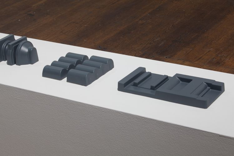 Double Positives (Grey), detail