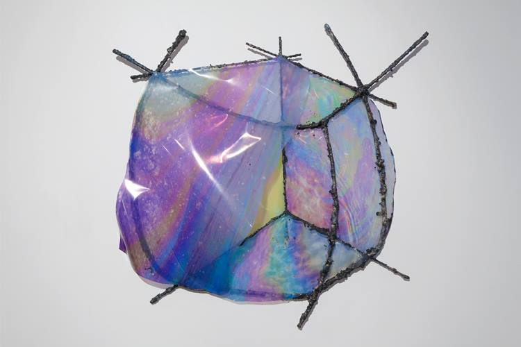 Untitled Wall Piece (Cube)