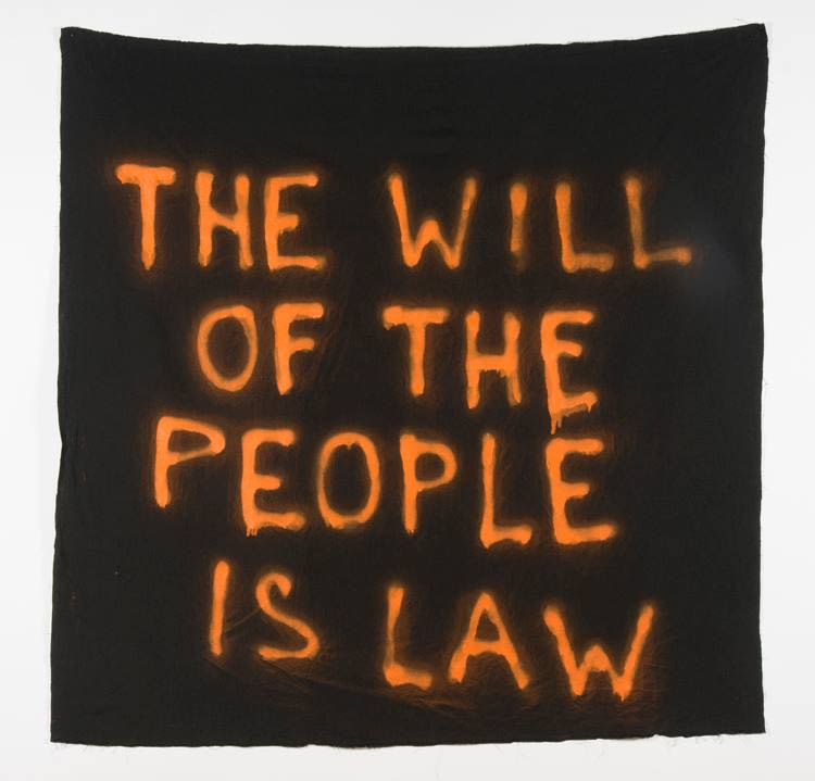 Fiona Jack, The Will of the People is Law