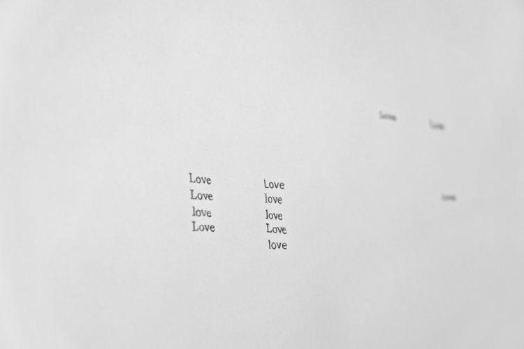 Love Calendar (31 Loves from 2012), detail