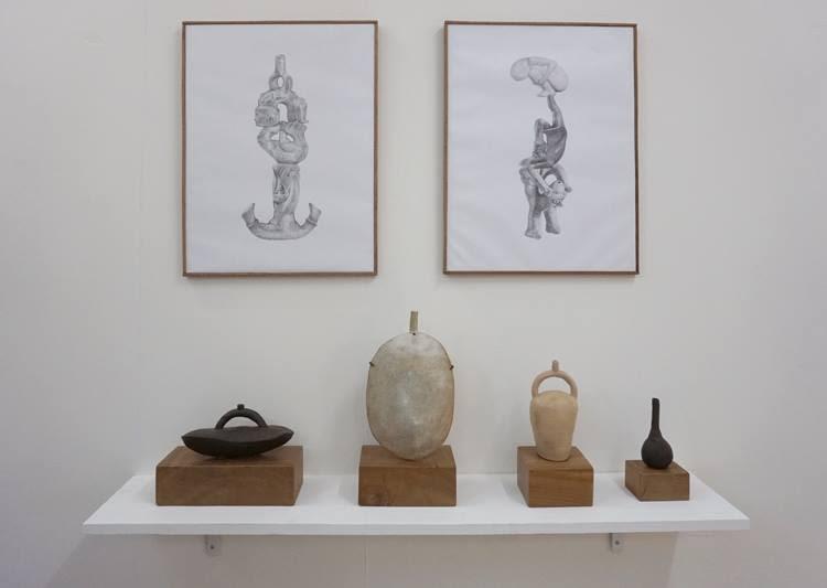 Installation view, Gala Porras-Kim