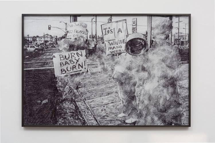 Untitled (Protesters after the verdict)