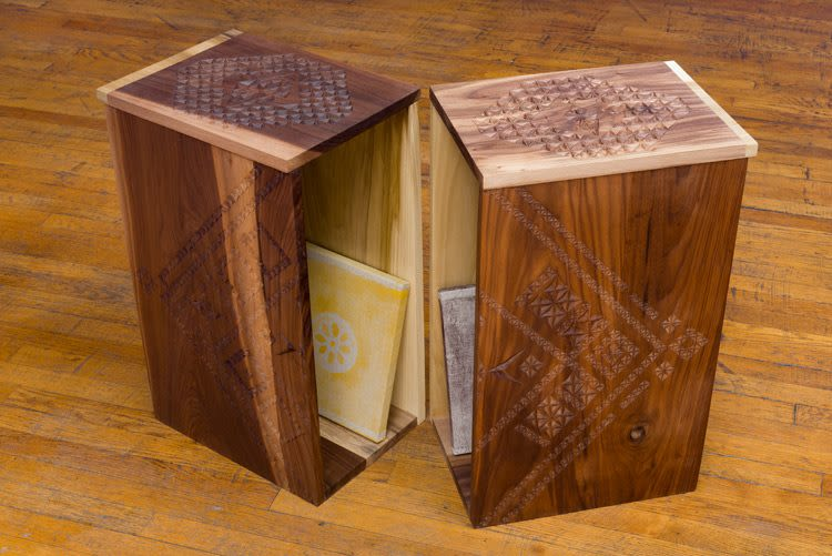 Box for Kang Seung Lee and Geoffrey Wall, detail