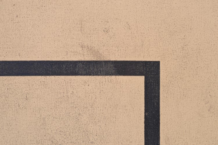 Painting for an exterior wall, detail