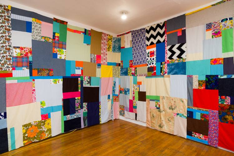 Mother Cloth, Installation view (week 1)