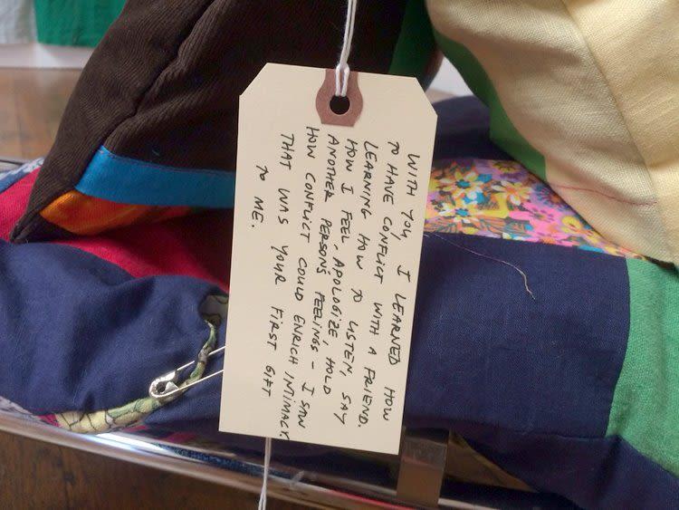Mother Cloth, 2016, detail (week 6)