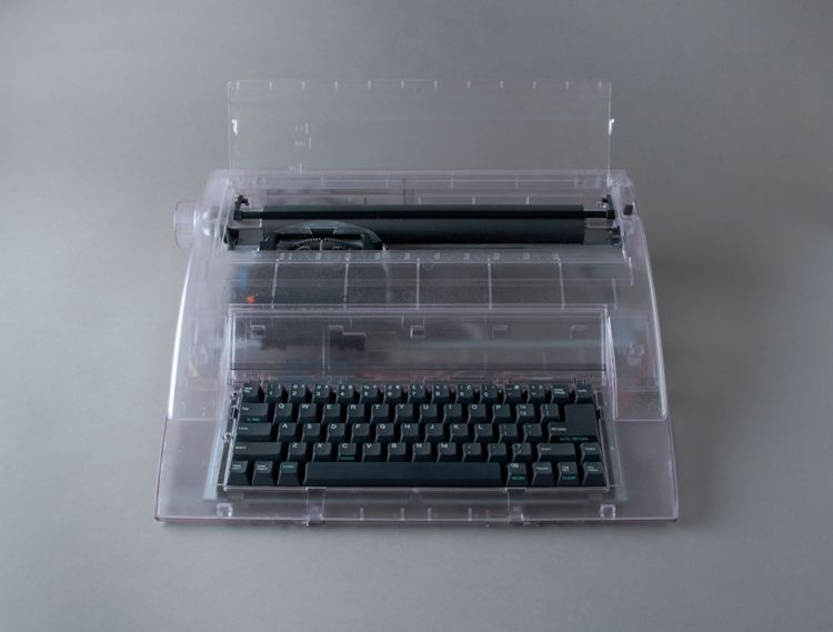 Prison Relic #2: Typewriter, detail
