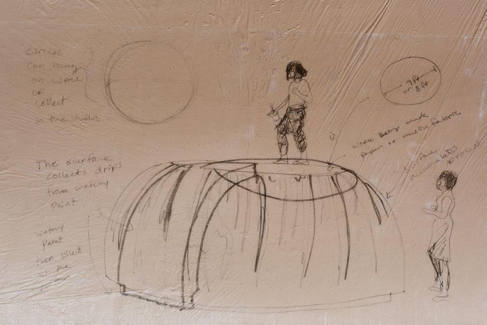 Painting Circles, detail