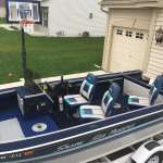 16 Foot Sylvan Sea Monster/ 90 Hp Evinrude