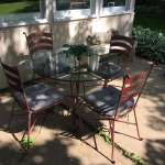 PIER 1 - Wrought Iron Patio Set