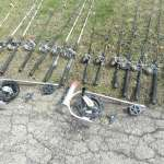Salmon rods, reels & downriggers