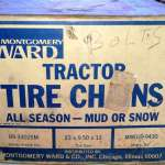 Tire Chains for lawn Tractor