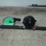 Daiwa rod, Penn 309 reel and 8'Daiwa 2 pc rod combo