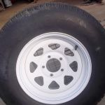 Trailer tires and wheels 215-75D-14
