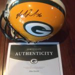 Authentic full size Green Bay Packers helmet