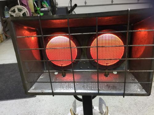 Mr Heater 2 burner
