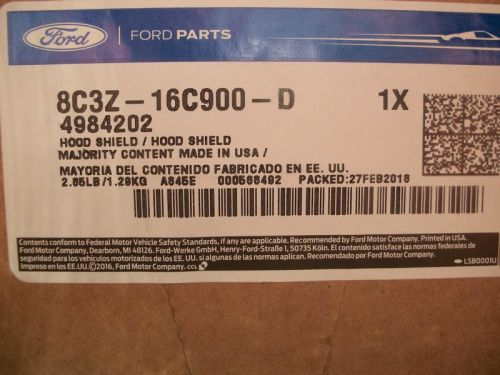 Ford chrome air deflector - NIB