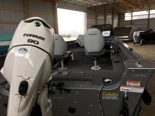 2012 AlumaCraft 165 competitior with 90hp Evinrude E-Tech