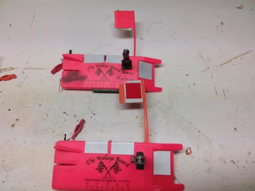 Planer boards and flare gun