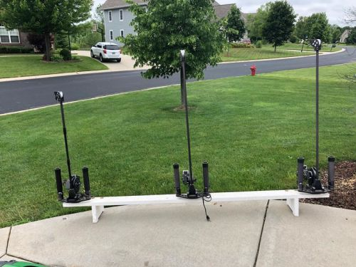 3 Vector Electric Downriggers