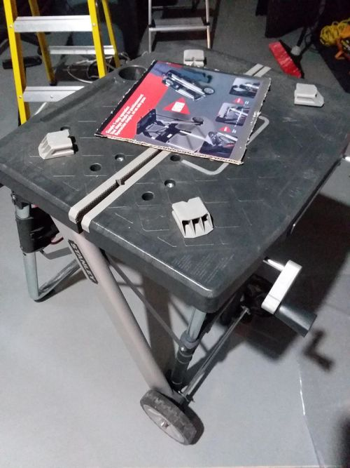 Stanley Portable Clamping Table