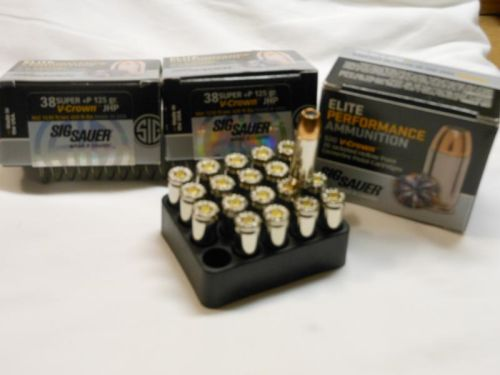 38 Super plus P defensive ammo