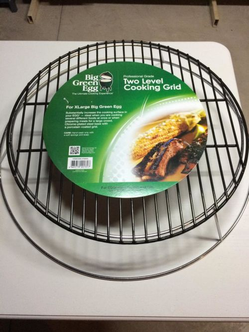 Big Green Egg 2nd level cooking grid