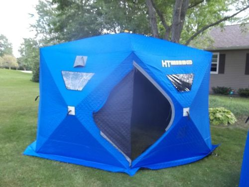 New 7 Man Insulated Ice Shelter