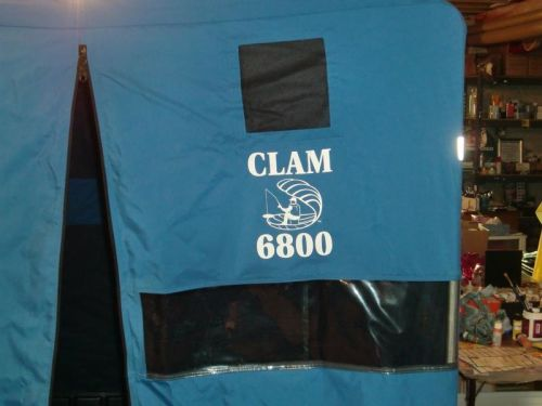 Clam 6800 portable Ice Shelter