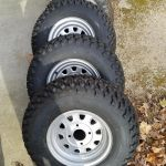 Honda ATV tires and rims, Duro - ITP 12 x 9 set of 4