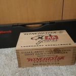 Benelli Super Black Eagle 3 and case of Winchester