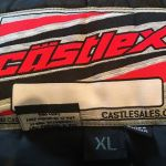 New Castle X Mens Snowmobile Bibs - Black - Size XL