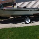 15' Lakeland boat and trailer ONLY