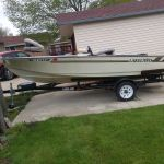 15' Lakeland boat and trailer   OBO
