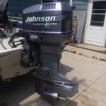 2000 Johnson 90hp with controls