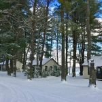 Snowmobile and Ice Fish - Trailside Cabins in Vilas County