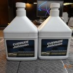 2-32oz Evinrude Lower Gear Case Oil
