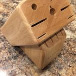 Kitchenaid wooden knife holder