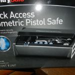 Biometric Pistol Safe