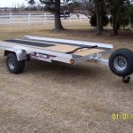 Triton Single Snowmobile Trailer