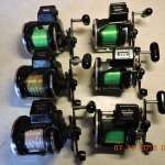Diawa LC 27 counter reels