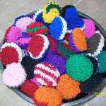 Scrubbie - Nylon Scrub pad ideal for assorted   cleaning purposes