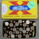 Winchester Western 32 Long Colt ammo