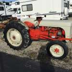 1952 Furguson TO30 compact tractor with blade