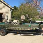 Rebuilt 16' 1984 Bass Tracker with 50hp Johnson Motor