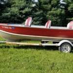 16' Lund Pike Rebel w/ 40hp Four Stroke Honda