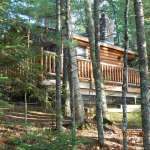 4-season home, 800 Ft wooded lake frontage