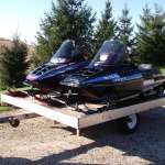 Polaris Snowmobiles/Trailer