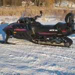 Snowmobile Arctic Cat 1999 Pantera 2 up 580 EFI