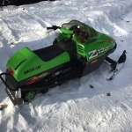 Kids Snowmobile, Artic Cat 120z
